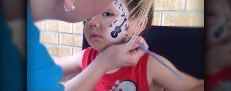 Wichita Face Painting Showcase #10
