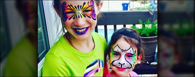 Wichita Face Painting Showcase #5